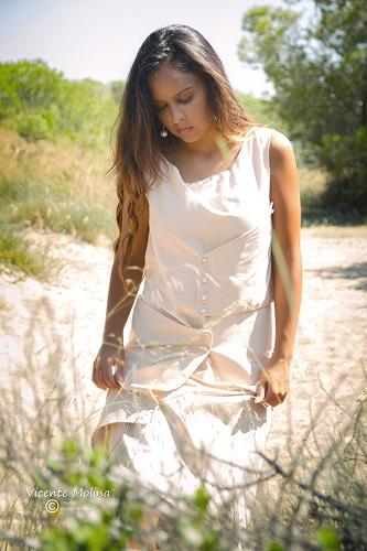 zurh vestido algodon ecologico diseño nacar mujer curvy perlas albufera diseño moda woman dress moda fashion qagyuhl