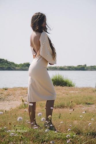 zurh vestido algodon nacar mujer magazine curvy albufera diseño moda woman dress moda fashion qagyuhl