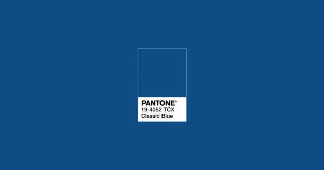 classic blue pantone color 2020